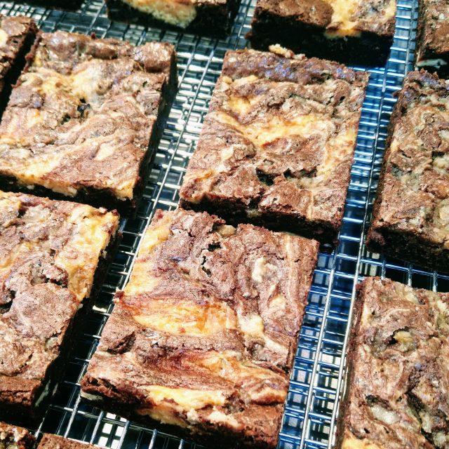 4 pack Salted Caramel Cheesecake Brownie
